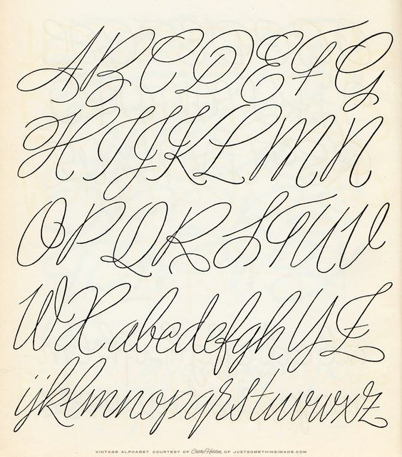 Beautiful Search And Handwriting Alphabet On Pinterest