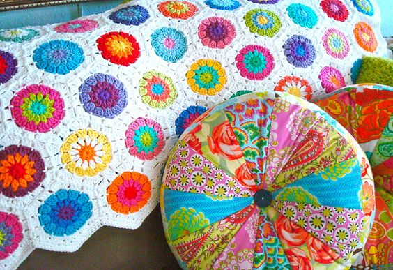Crochet cotton afghan by ltl blonde .. For more #crochet posts. F0LL0w --> @WDough