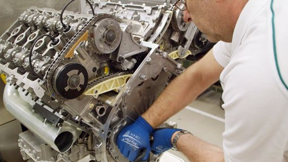 ► Bentley Factory - W12 Engine...Beautiful engine and VERY powerful.