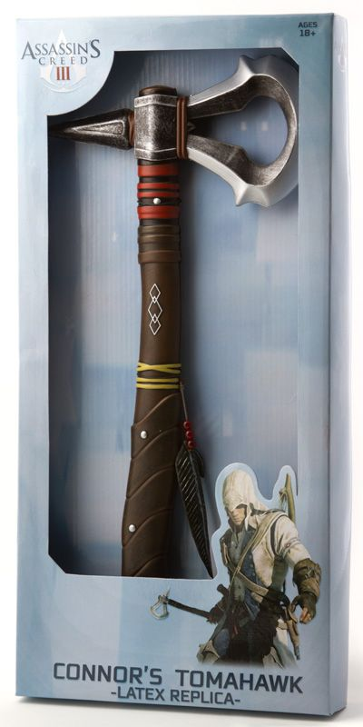 J!NX : Assassins Creed 3 Foam Tomahawk - Clothing Inspired by Video Games & Geek Culture