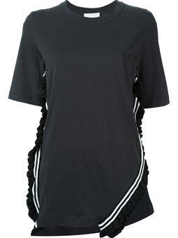 ruffled trim T-shirt £258 #farfetch #fashion! #31-Phillip-Lim