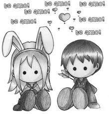 Resultado de imagen para imagenes de anime para dibujar a lapiz faciles de amor