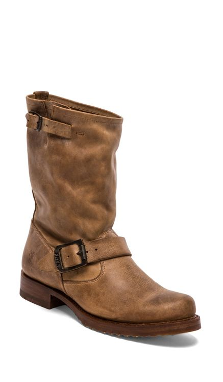 Frye Veronica Short Boot in Tan from Revolve Clothing