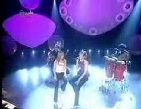 Atomic Kitten - Whole Again acoustic at CD:UK [without Liz]