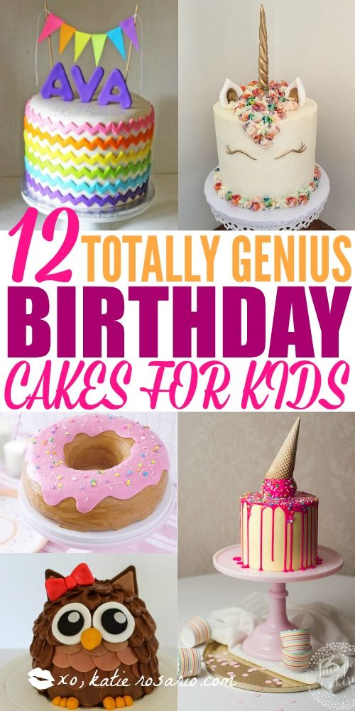 Tremendous 12 Totally Genius Birthday Cakes For Kids With Images Easy Funny Birthday Cards Online Chimdamsfinfo