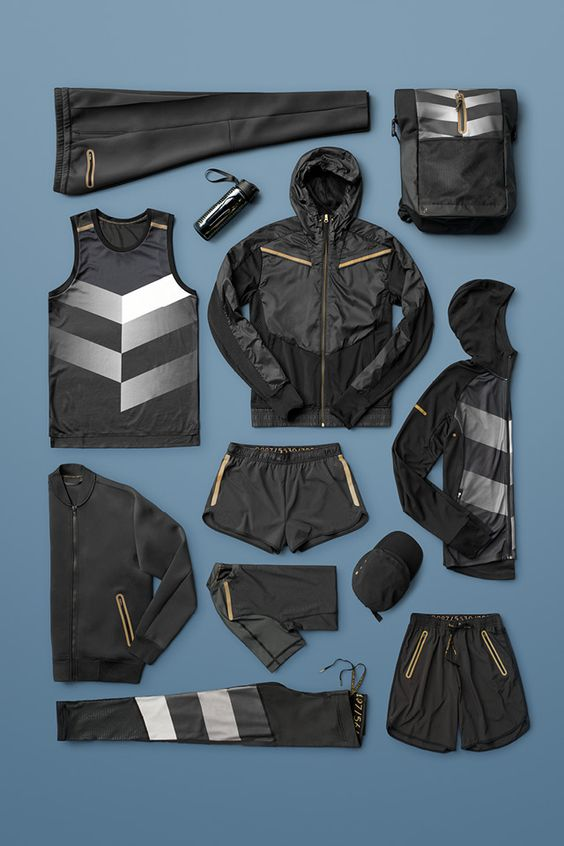 """Indulge in trendy sportswear for men and women. Click through to shop running tights, jackets, tops, shorts, sports bras and more that all combine fashion with function. The """"For Every Victory"""" collection is developed in collaboration with professional athletes. 