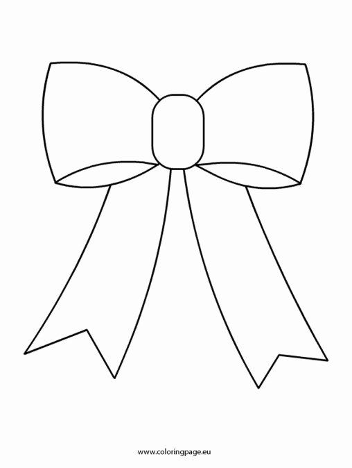 Bow Tie Coloring Page Awesome Bow Tie Free Coloring Pages In 2020 Bow Template Coloring Pages Free Coloring Pages