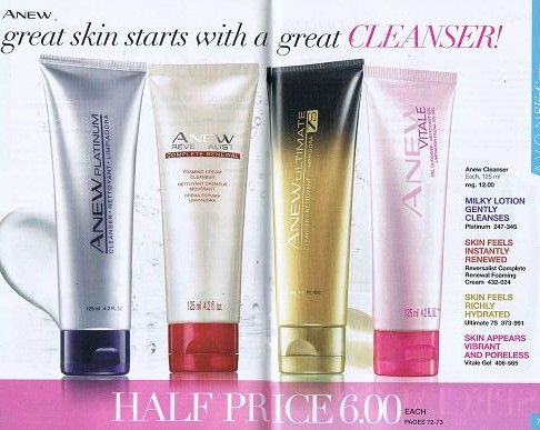 Anew great skin starts with a great Cleanser!