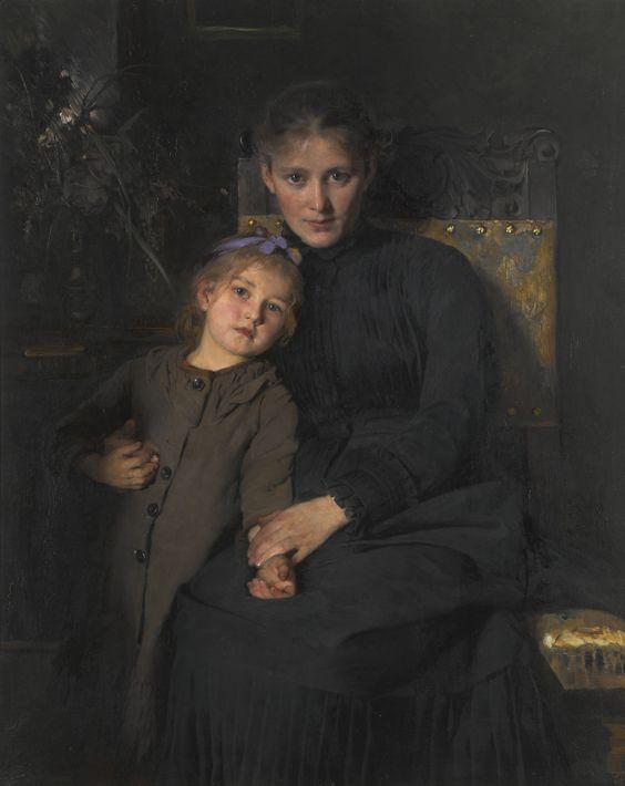 wegmann, bertha tender moments | portrait | sotheby's l16101lot924jlen: