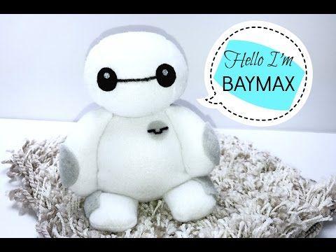Diy Baymax Plushie Tutorial Youtube Diy Stuffed Animals