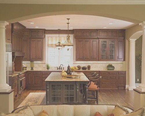 14 Excellent Decorating Kitchen Soffits Photos In 2020 Kitchen Soffit Transitional Kitchen Design Brown Kitchen Designs