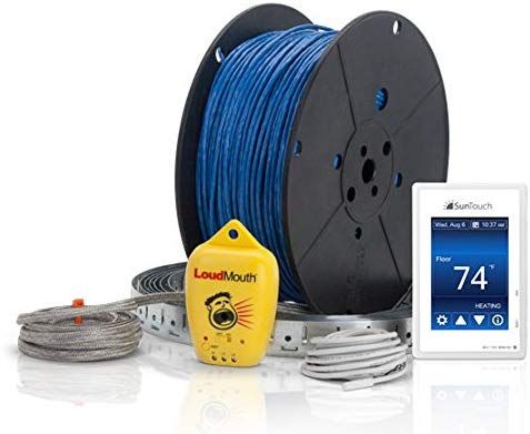 Suntouch Warmwire 120v Floor Heat Kit 70 Sq Ft Cable Adaptable To Any Layout And Adds Luxury And Comfort To Any In 2020 Radiant Floor Heating Flooring Radiant Floor