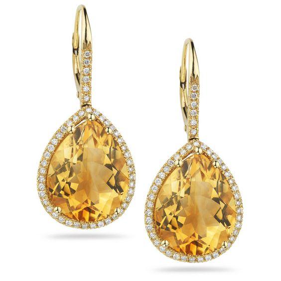 diamonds & citrine by dana rebecca