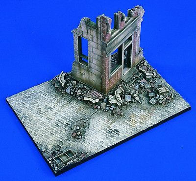 Verlinden-Productions-1-35-Scale-Streetfighters-Resin-Diorama-Base-Kit-1699