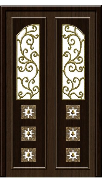 Modern pooja doors google search puja room pinterest for Room door design for home