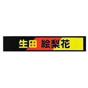 乃木坂46 推しメンマフラータオル 6th Anniversary 46時間tv 生田絵梨花 宝箱 46時間tv マフラータオル