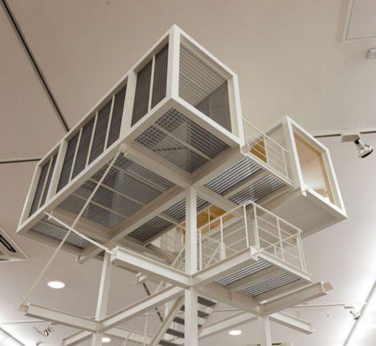 Titulado Container Architecture Arquitectura sencilla. Simplemente asombroso.