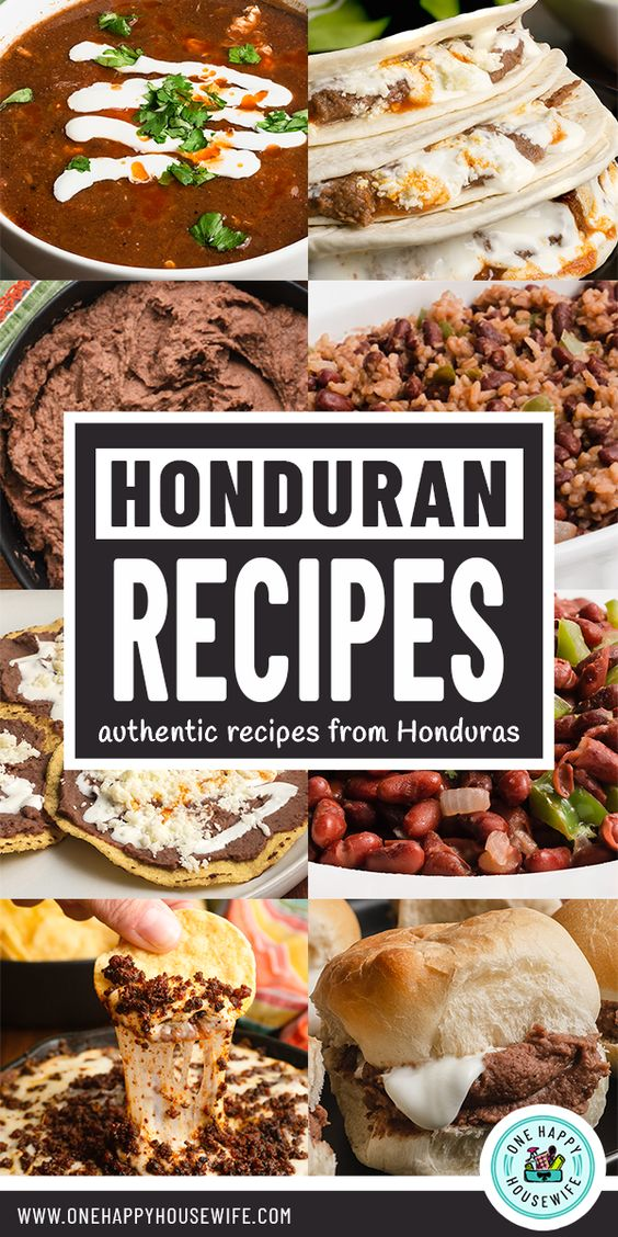 Honduran Recipes
