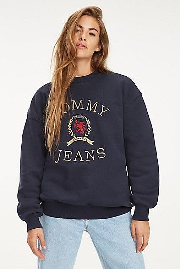 Crest Capsule Sweatshirt Sweatshirts Tommy Hilfiger Tommy Hilfiger Hoodie