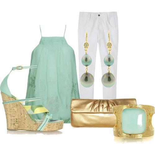 Spring! (Minus the gold purse.)
