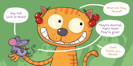 J Apprends L Anglais Avec Cat And Mouse Eat Good Food