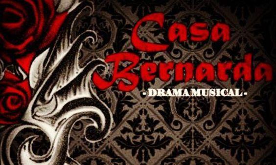 LA CASA BERNARDA - Teatro Adaptación de La Casa de Bernarda Alba de Federico García Lorca, sube al escenario del teatro imperial, un drama musical de la mano de los talentoso... http://sientemendoza.com/events/la-casa-bernarda-teatro/