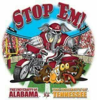 Stop Em! Alabama vs Tennessee Vols
