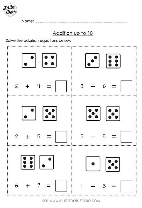Free Preschool Math Printables Little Dots Education Math Addition Worksheets Kindergarten Math Worksheets Addition Kindergarten Addition Worksheets