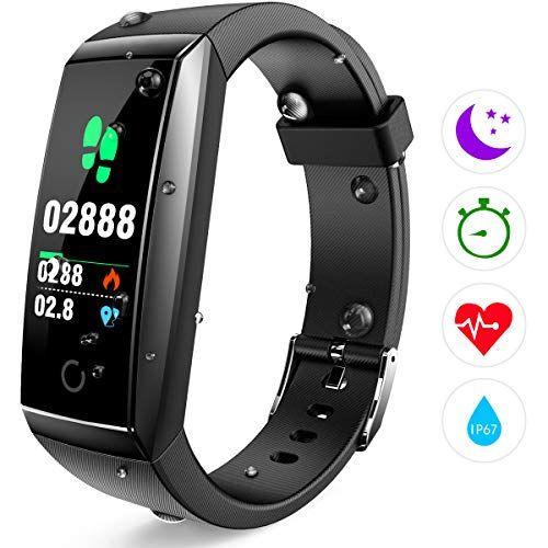 Winisok Fitness Armband Pulsmesser Fitness Tracker Wasserdicht Ip67 Farbdisplay Gps Fitness Tracker Aktivitatstracker Schrittzahler Uhr Schlafuberwachung Anruf