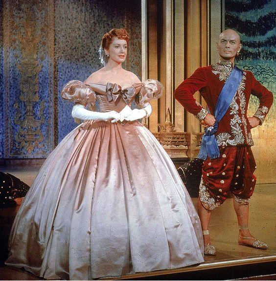 Gorgeous Irene Sharaff design from The King and I - one of my favorite musicals and favorite characters - the King