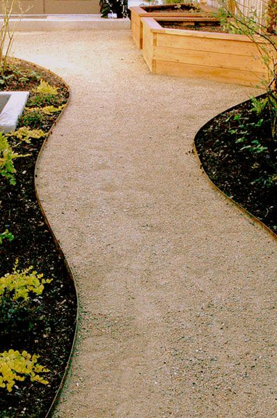 Decomposed granite path landscape ideas pinterest for Garden design ideas gold coast