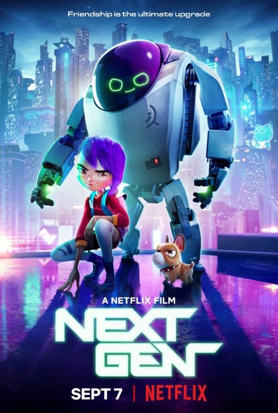 Check Out The New Trailer For Next Gen Starring John Krasinski Netflix Movies For Kids Streaming Movies Online Movies Online