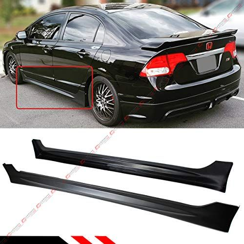 Fits For 2006 2011 Honda Civic 4 Door Sedan Mug Rr Style Side Skirt Extension Panel Https Automotive Boutique Honda Civic 2006 Honda Civic 2011 Honda Civic