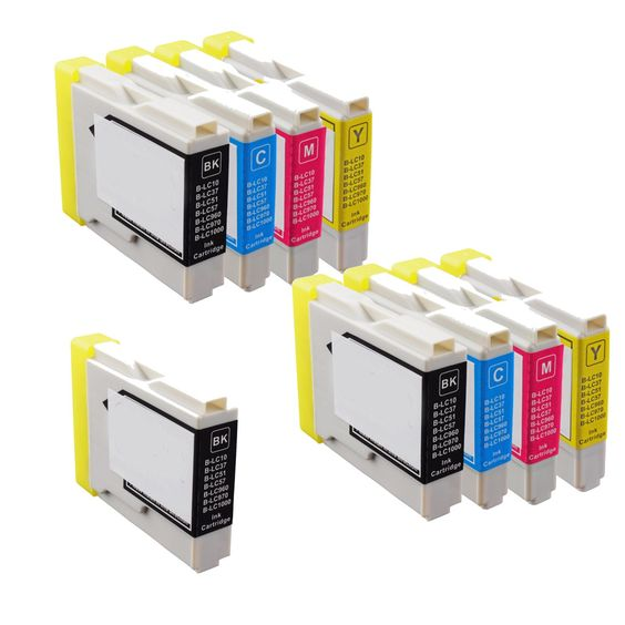 N 2Sets+1BK LC51 BK C Y M Compatible Ink Cartridge for Brother DCP-130C 540CN