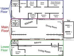 Twilight Cullen House Floor Plan