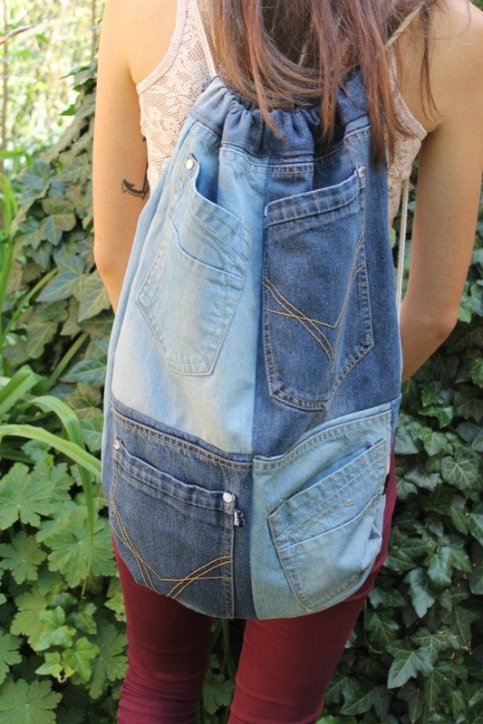 Welcome to my shop! All models that I offer to you are handmade with love and fantasy! I recycle denim jeans in these very useful, comfortable and