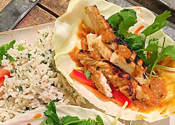 Thai Chicken Tacos - Delicious variation on tacos that are good for ...