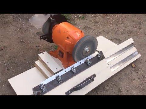 Maquina Para Afilar Guia Casera P Afilar Cuchillas De Cepillo Carpintero Youtube Em 2020 Ideias De Marcenaria Lixadeira Maquinas