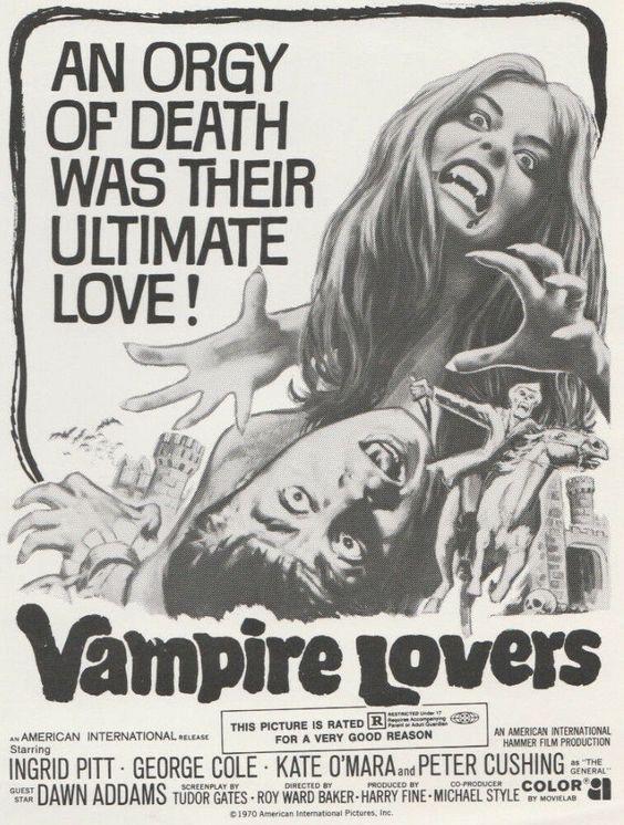 1970 Cult Horror movie poster print 2 Frankenstein Dracula vs