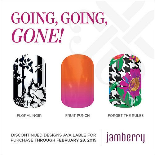 """Discontinued wraps available for purchase through February 28, 2015!! """"Floral Noir"""" """"Fruit Punch"""" & """"Forget The Rules"""""""