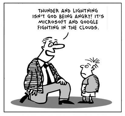 Thunders on Cloud :)