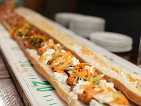 WATCH: Make your next tailgate party a hit with Food Network Kitchens' Super Sub.