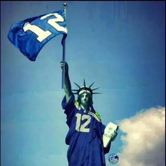 The twelves rule! Seahawks