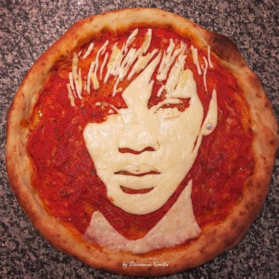 domenico crolla celebrity pizza art