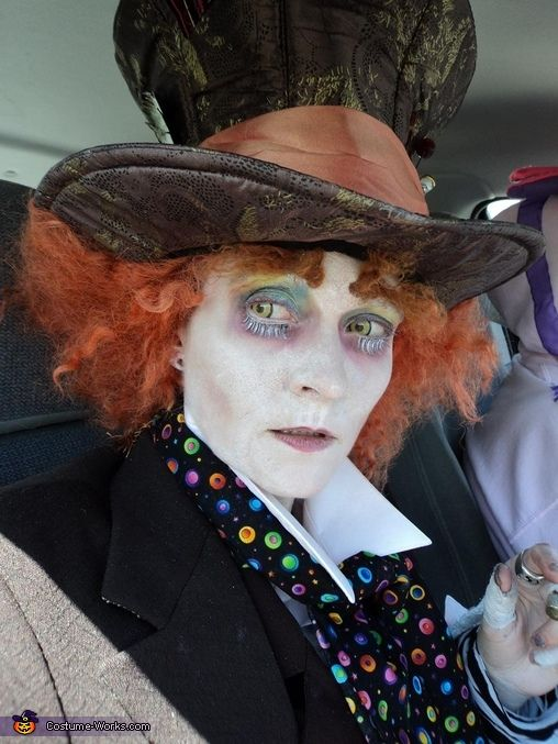 the mad hatter costume men makeup homemade and mad hatters