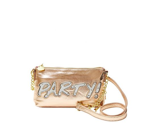 KITCH LIGHT IT UP BAG: Betsey Johnson