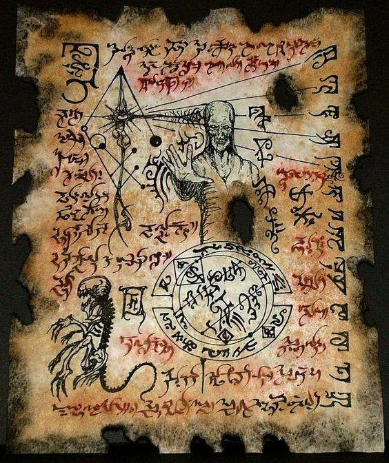 El Necronomicón,un libro salido de los infiernos E5981ba2c3f43dc6119413ceaaec33a4