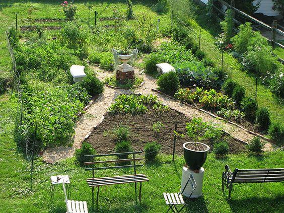 potager allotment growing fruit and vegetables. Black Bedroom Furniture Sets. Home Design Ideas
