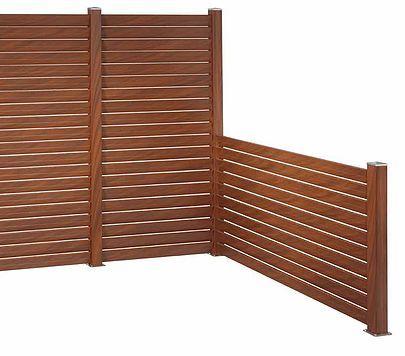 vallas de material compuesto de madera y pvc especiales para vallados de diseo