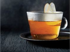 This hot toddy comes together in a flash thanks to the microwave. A touch of salt, though it may seem counterintuitive, actually heightens the sweetness of the drink, though the beverage is far from cloying. Pear vodka, such as Absolut, can be found at most liquor stores. We love the floral fruit flavor of pear, which is perfect for late fall. Cognac adds a little oak-cask richness and complexity to the mix. We add the liquor to the hot sugar mixture, which yields a very warm drink that can…